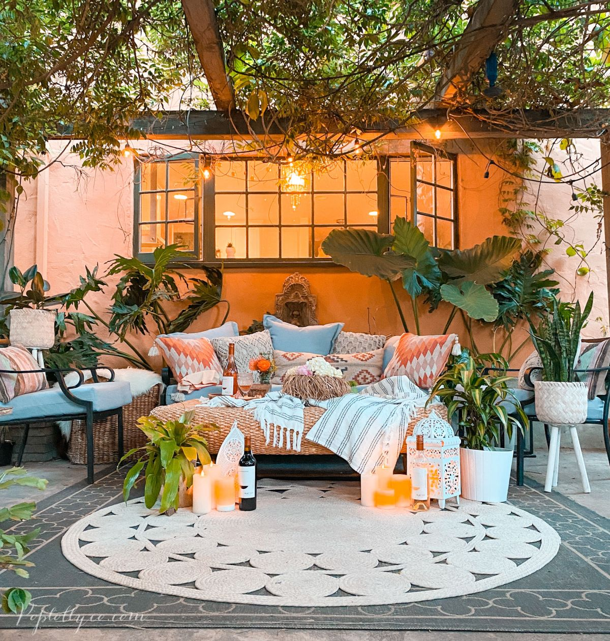 5 tips to create a magical patio | Poplolly co