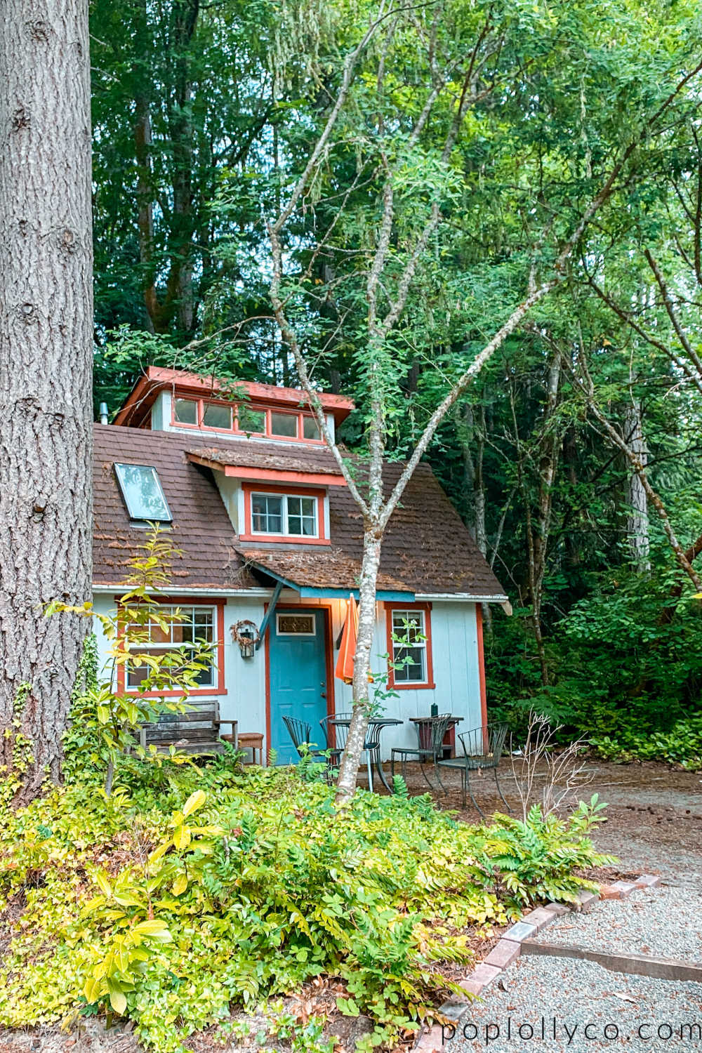 cottage on Bainbridge Island | places to stay in Bainbridge Island | visit Bainbridge Island | Poplolly co