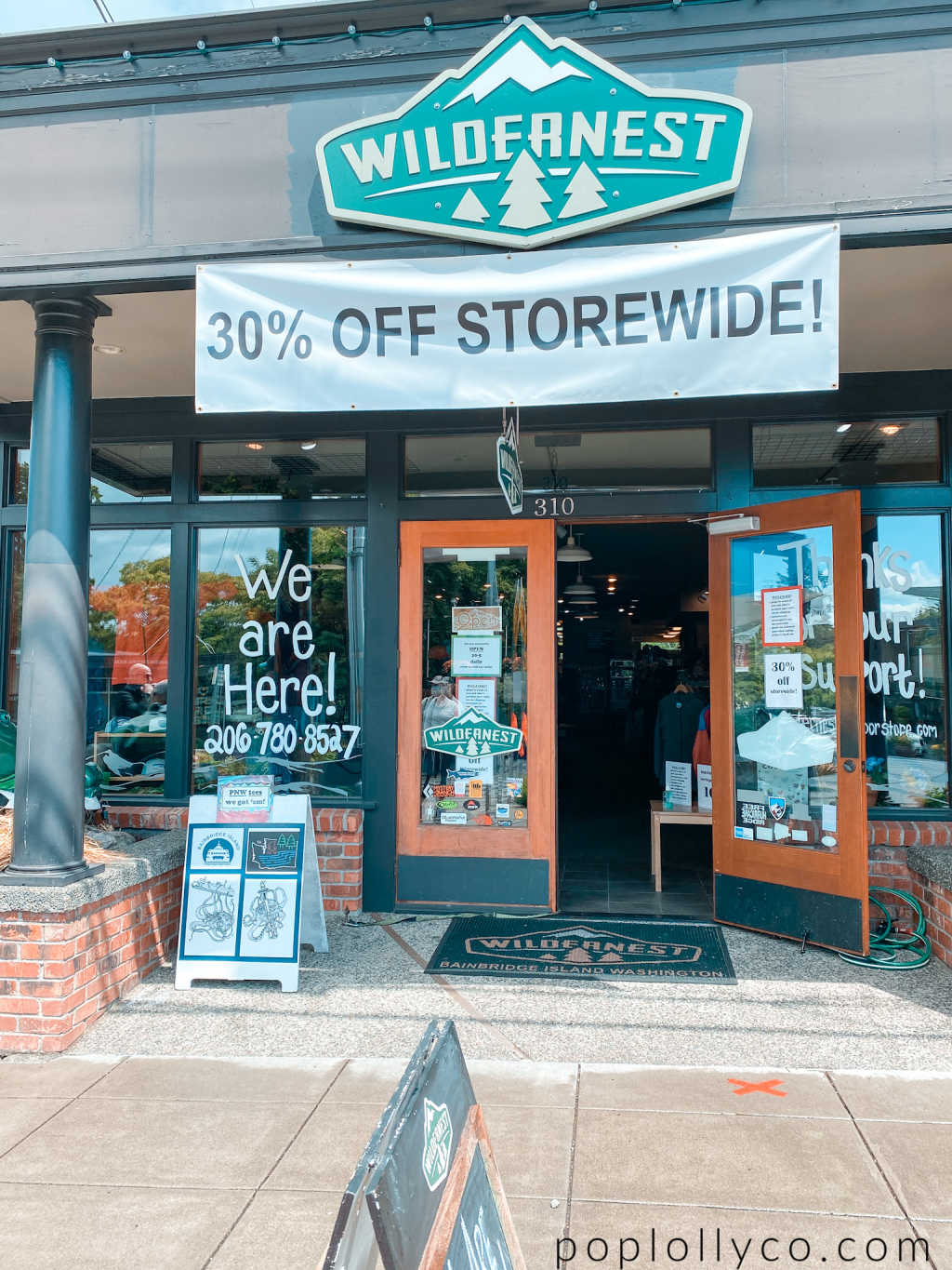 shopping in Bainbridge Island | Wildernest | Poplolly co