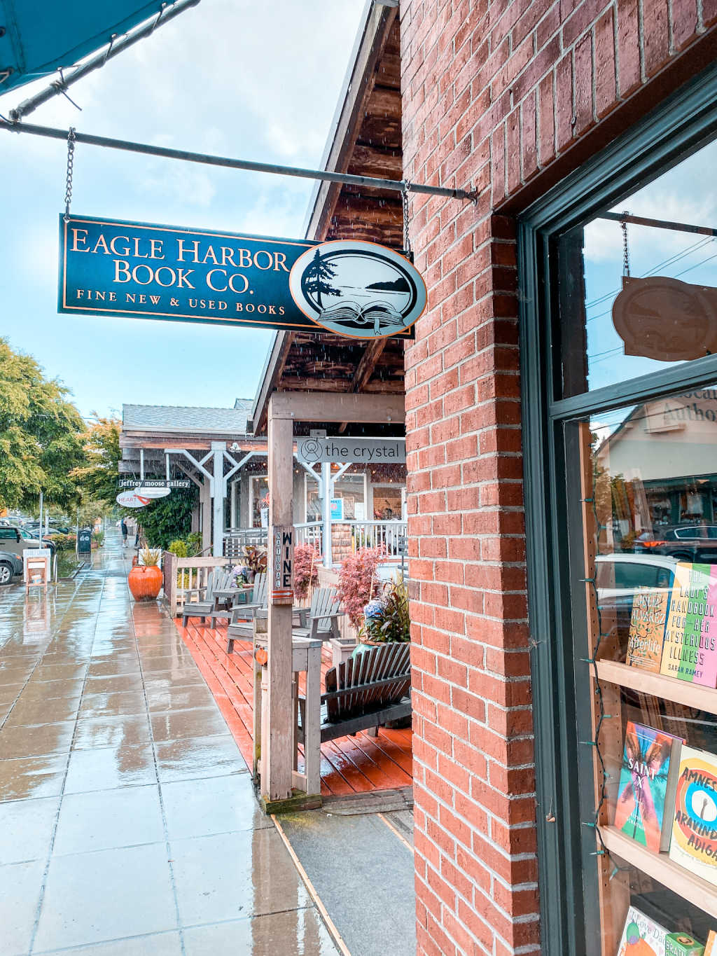 things to do on Bainbridge Island | Eagle Harbor Book Co | shop on Bainbridge | Poplolly co