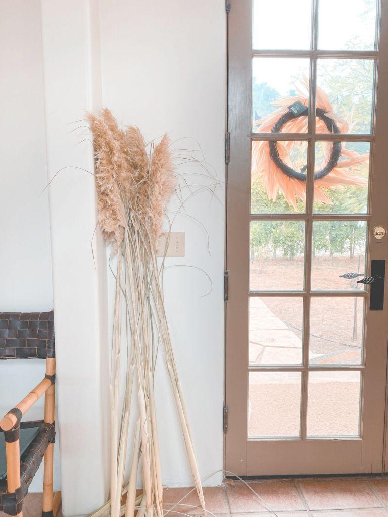 tall pampas grass stalks | diy pampas grass decor ideas | Poplolly co