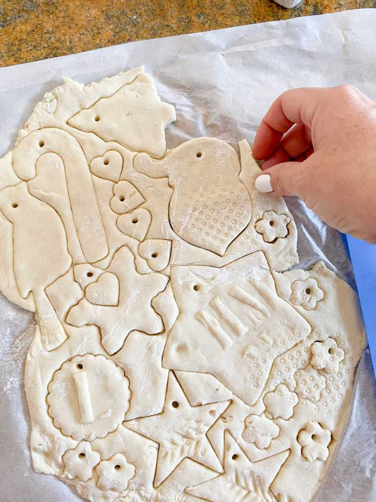 salt dough ornament ideas | easy recipe | christmas crafts | Poplolly co