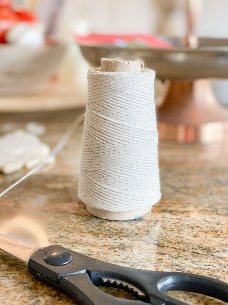 kitchen twine for hanging homemade ornaments   Poplolly co