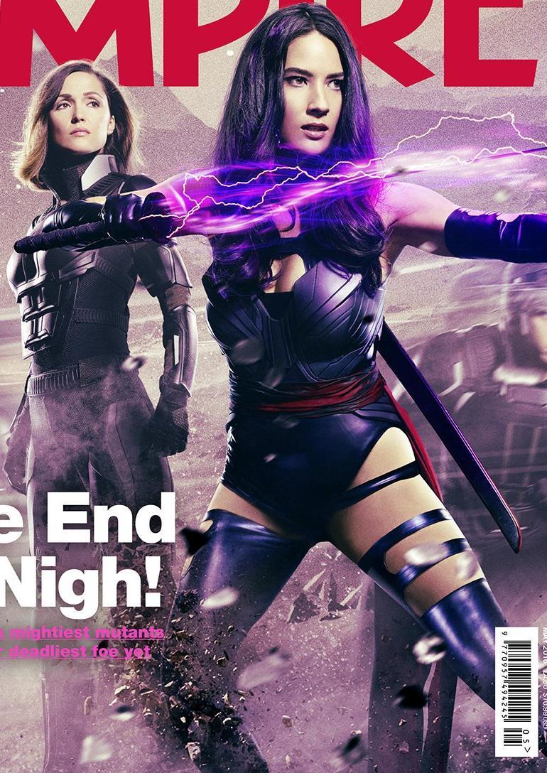 Pop Minute Olivia Munn Psylocke X Men Apocalypse Photos