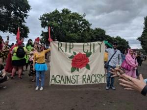 PopMob Rip City Against Racism