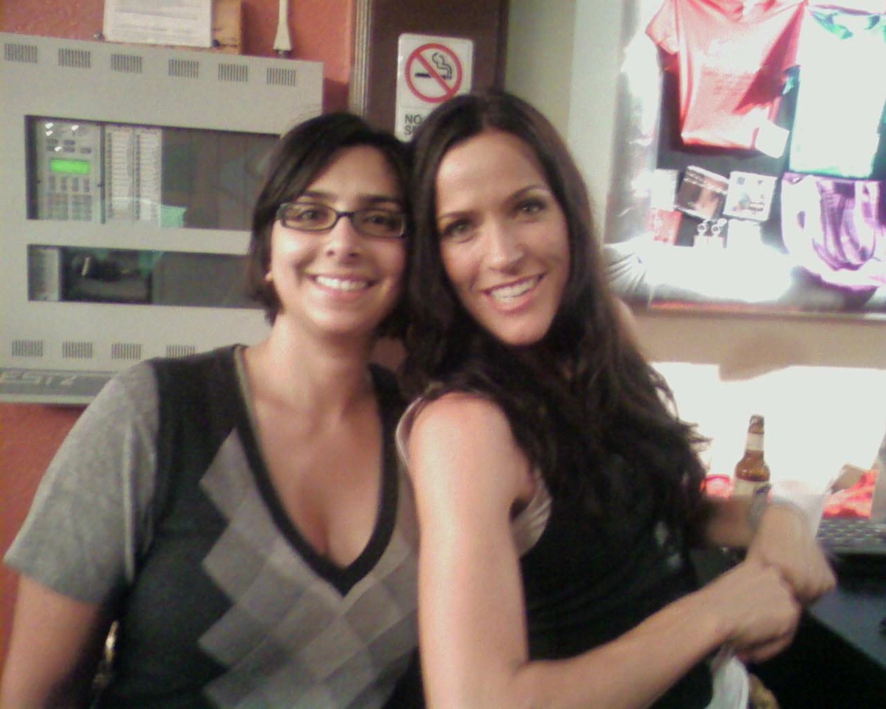 Becky and Chaska post-show