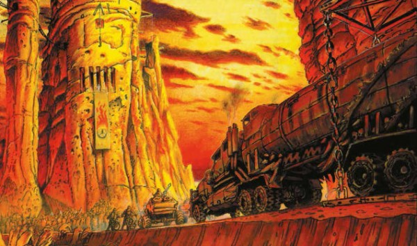 the art of mad max fury road - concept art