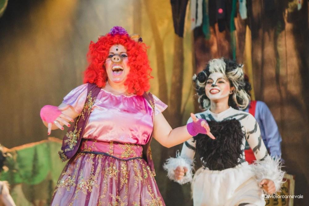Os Porquinhos - O Musical. Foto: Divulgação