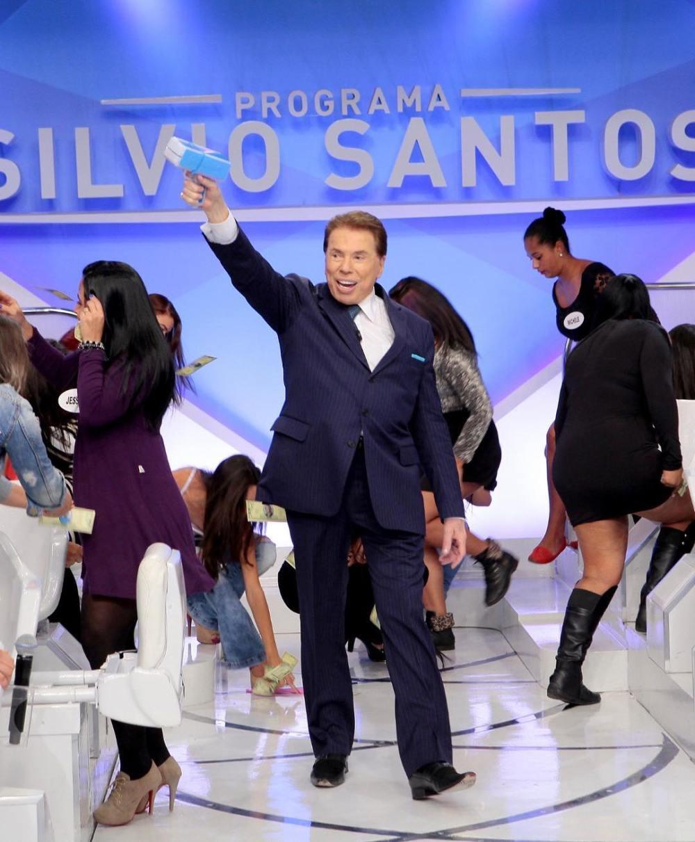 Silvio Santos. Foto: Reprodução/Instagram (@pgmsilviosantos)