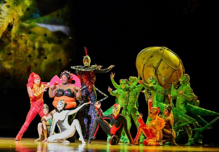 Cirque Du Soleiul. Foto: Divulgação
