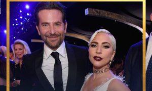 Bradley Cooper e Lady Gaga. Foto: Reprodução/Instagram (@ sagawards)