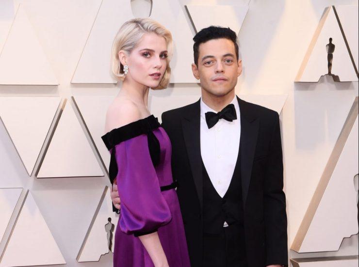 Rami Malek e Lucy Boynton. Foto: E! Online Latino