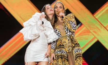 Ivete Sangalo e Claudia Leitte. Foto: Divulgação/Rafa Mattei