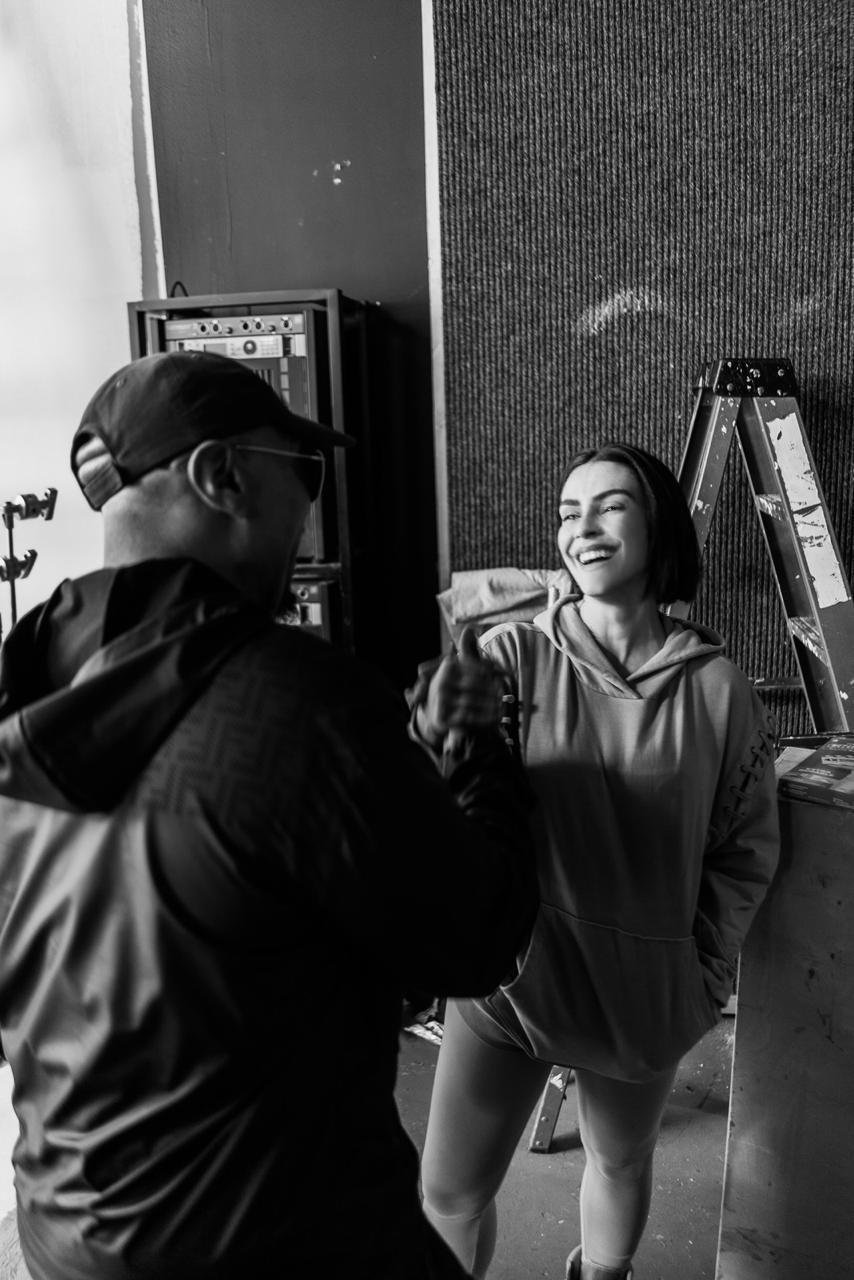 Cleo e Timbaland. Foto: Divulgação