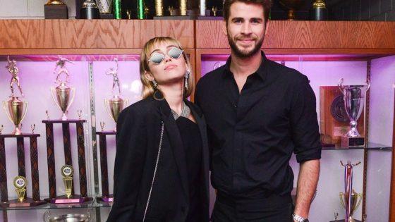 Miley Cyrus e Liam Hemsworth. Foto: Reprodução/Instagram (@mileycyrus)