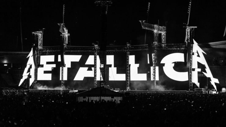 Metallica. Foto: Divulgação