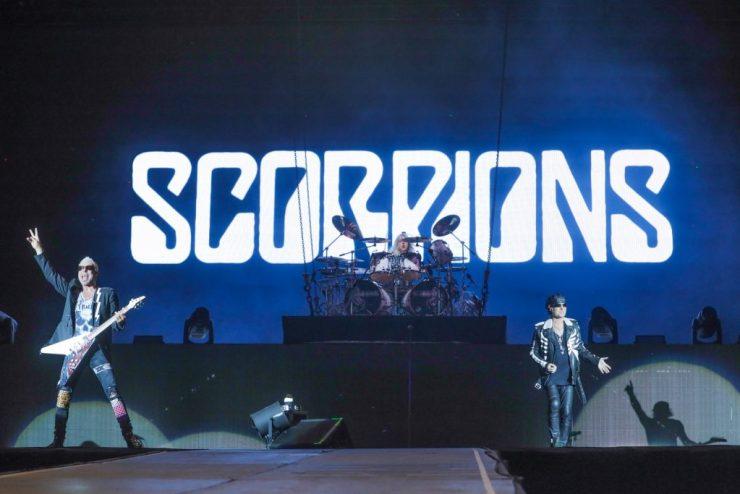 Scorpions. Foto: Divulgação/Ricardo Matsukawa/Mercury Concerts