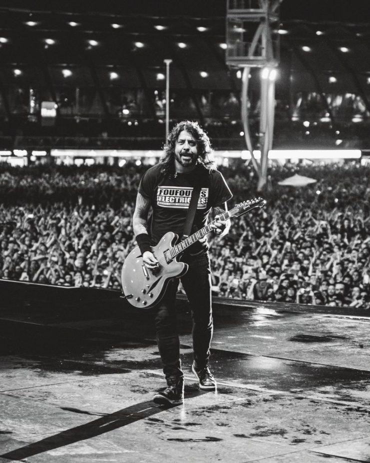 Foo Fighters. Foto: Divulgação/Fernando Schlaepfer