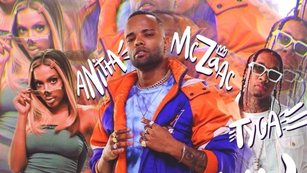 Mc Zaac, Anitta e Tyga. Foto: Divulgação