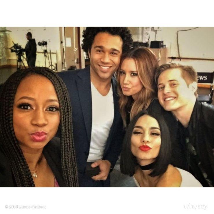 Cast de High School Musical. Foto: Reprodução / Instagram (@mrgrabeel)