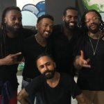 Nego do Borel, Rafael Zulu, Rael e MSário. Foto: Divulgação