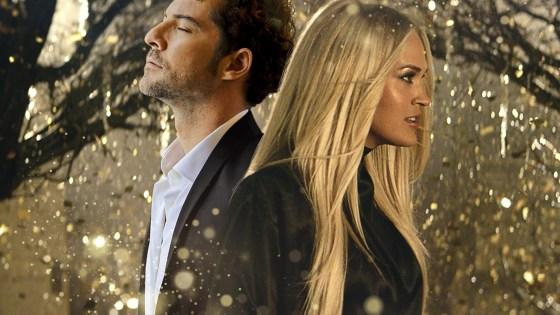 Carrie e David. Foto: Reprodução.