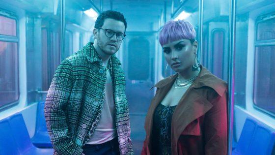 Sam Fischer e Demi Lovato. Foto: Divulgação