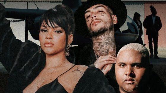 Gabily, MC Kevin, Kevin O Chris. Foto: Reprodução / Instagram (@gabily)