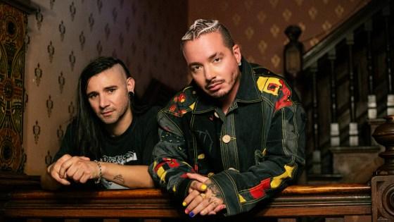 J Balvin e Skrillex. Foto: Divulgação / Universal Music