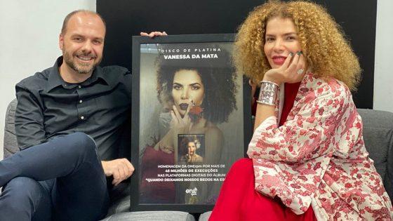 Foto: Arthur Fitzgibbon (ONErpm) e Vanessa da Mata