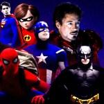 Uma era de super-heróis