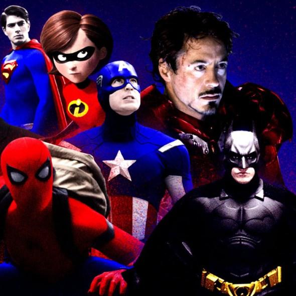 era de super-heróis