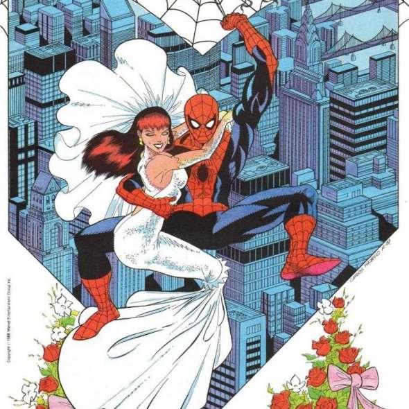 O Casamento do Homem-Aranha