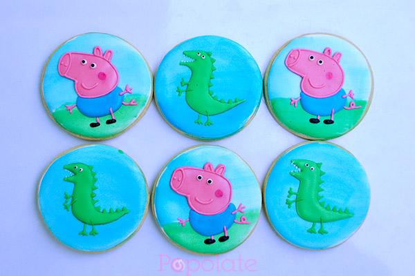 Peppa Pig, George and his dinosaur