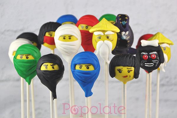 Ninjago cake pops party
