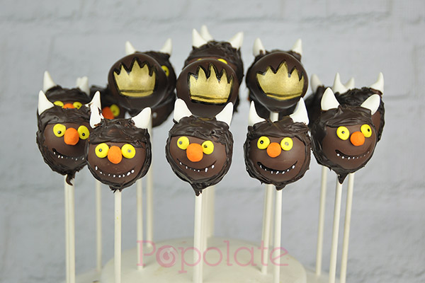 Where the wild things are cake pops