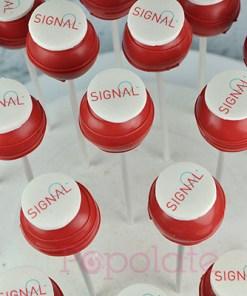 Signal cake pops corporate