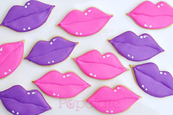 Lip cookies fpr Mecca