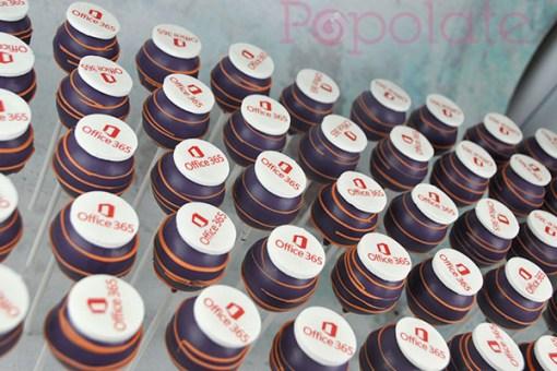 Office Windows cake pops