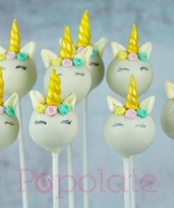 Unicorn cake pops pastel