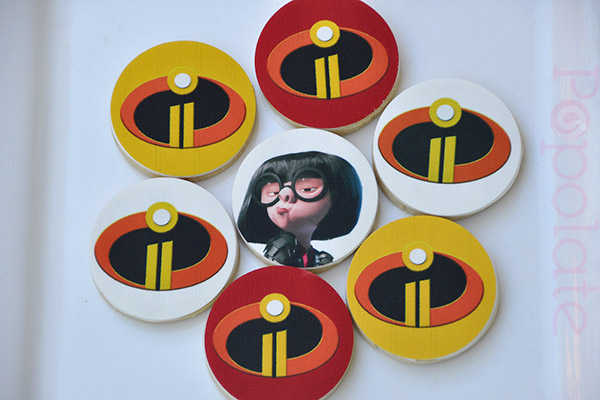 Incredibles 2 cookies