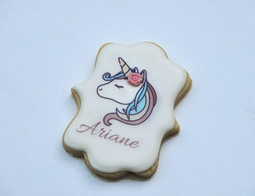 Unicorn name cookie