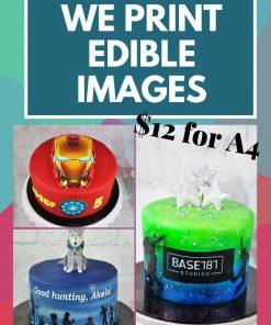 Edible image print