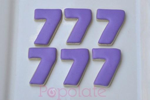 Number 7 biscuit
