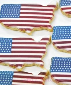 American -Flag-Cookie