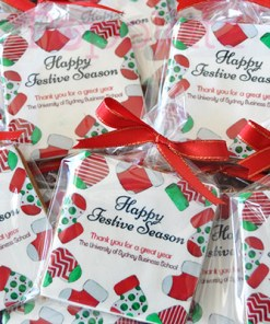 Personalised cookie card Christmas gift