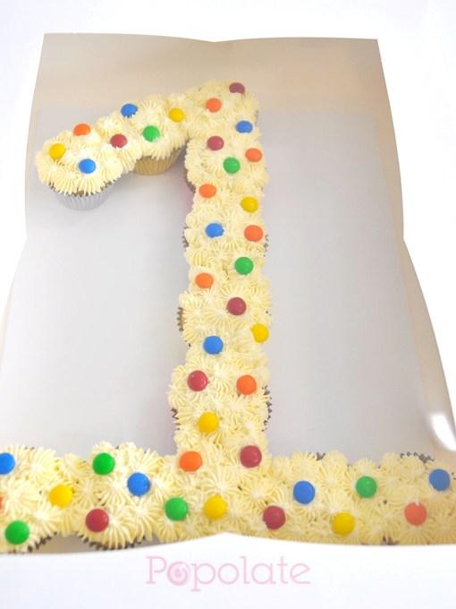 Number 1 cupcake