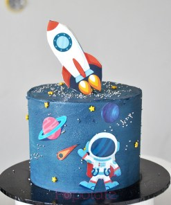 Space rocket cake 6 inch