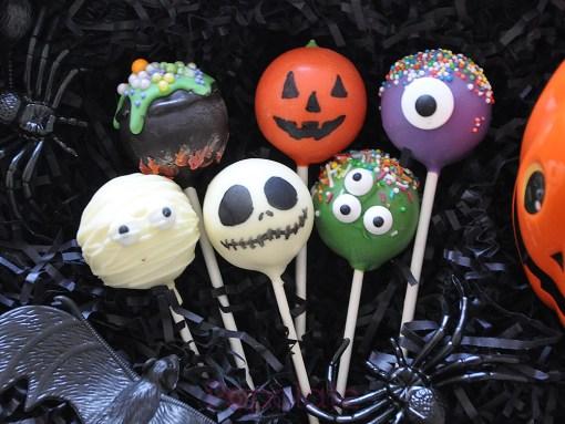 Halloween 2021 cake pops