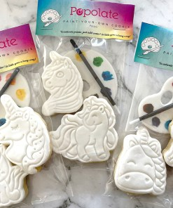 PYO unicorn stamped cookies